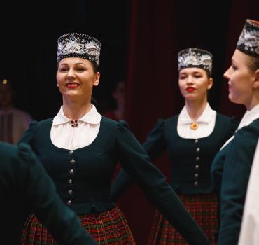 Baltās ziemas deju virpulī 2018